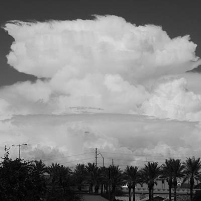 Photograph - Monsoon Thunderhead  Over Arizona by Bill Tomsa