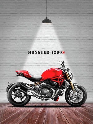 Monster Photograph - Monster 1200 by Mark Rogan