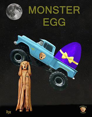 Monster Eggs Art Print