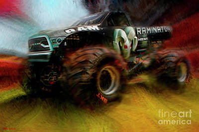 Photograph - Monster Jam Ram Raminator by Blake Richards