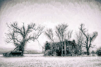 Digital Art - Monster Manor On The Outer Banks Ap by Dan Carmichael