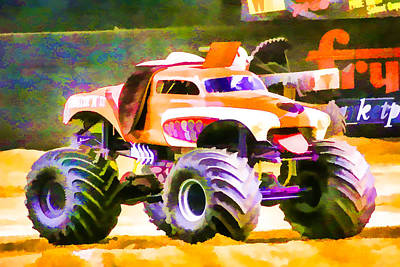 Monster Mutt Art Print by Lanjee Chee