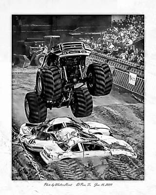 Monster Truck 2b Art Print