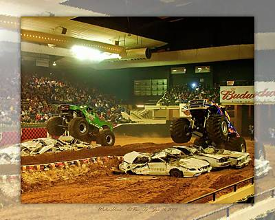 Photograph - Monster Truck 3a by Walter Herrit