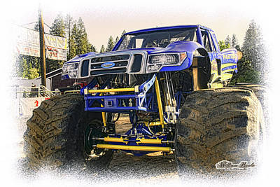 Photograph - Monster Truck At The Fair by William Havle