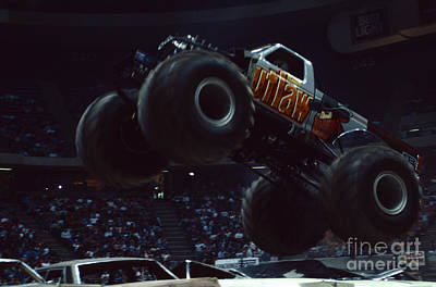 Monster Truck Photograph - Monster Truck Outlaw by Antonio Martinho