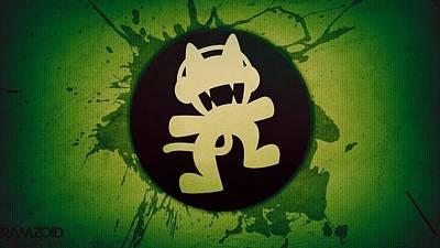 Design Digital Art - Monstercat by Super Lovely