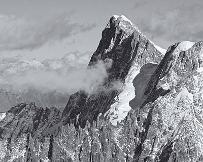 Photograph - Mont Blanc Massif by Stephen Taylor