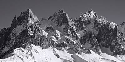 Photograph - Mont Blanc by Stephen Taylor