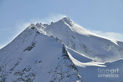 Snowy Photograph - Mont Pourri by Andy Smy