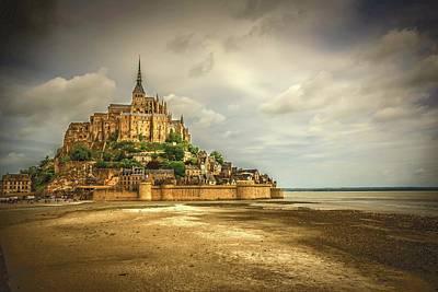 Photograph - Mont Saint Michel by Bill Howard