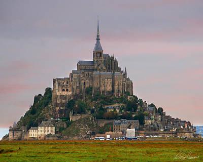 Photograph - Mont Saint Michel by Diana Haronis