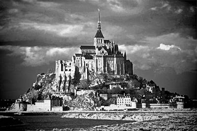 Photograph - Mont Saint Michel by Elf Evans
