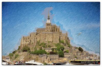 Photograph - Mont Saint - Michel by Jack Torcello