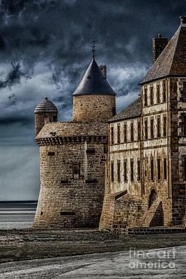 Mont Saint Michel Art Print by John Karcher