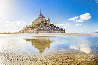Photograph - Mont Saint Michel by JR Photography