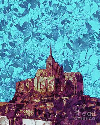 Royalty-Free and Rights-Managed Images - Mont Saint-Michel by Esoterica Art Agency