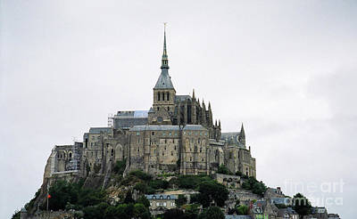 Photograph - Mont St. Michel by Donna L Munro