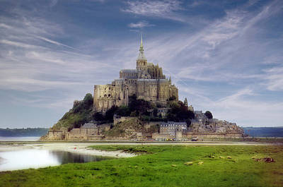 Photograph - Mont St Michel by Rod Jones