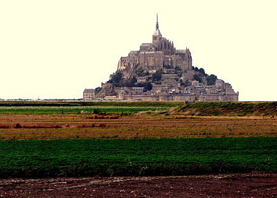Photograph - Mont St. Michel by T Guy Spencer
