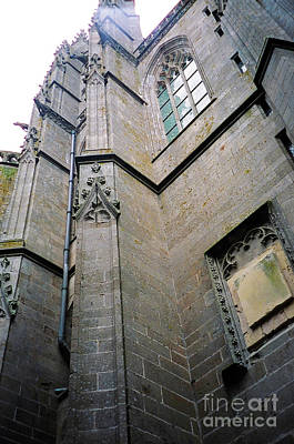 Photograph - Mont St Michel Vertical by Donna L Munro