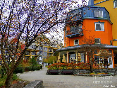Photograph - Mont Tremblant, Quebec, Canada by Elfriede Fulda