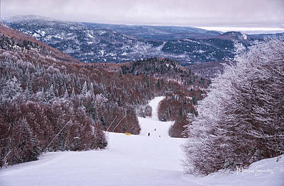Photograph - Mont Tremblant Slopes by Michael Santos