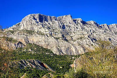 Photograph - Montagne Sainte Victoire by Olivier Le Queinec