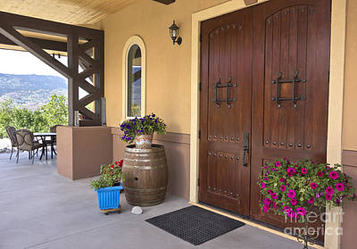 Photograph - Montakarn Winery Door by Maria Janicki