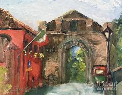 Painting - Montalcino Corner by Kathy Lynn Goldbach