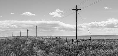 Photograph - Montana Country Lines  by John McGraw
