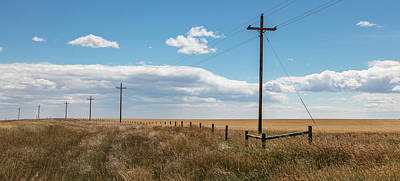 Photograph - Montana Country Poles  by John McGraw