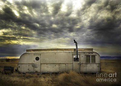 Photograph - Montana Cowboy Trailer by Craig J Satterlee