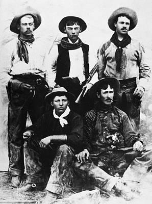 Photograph - Montana Cowboys by Granger