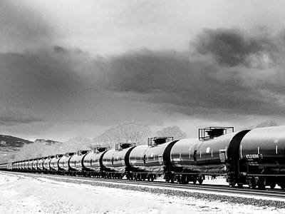 Photograph - Montana Crude by Dominic Piperata