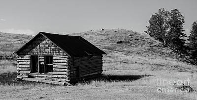 Photograph - Montana Homestead by Nick Boren