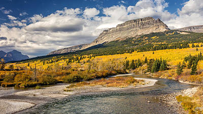 Photograph - Montana Landscape In Fall by Pierre Leclerc Photography