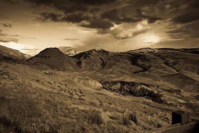 Montana Landscape Art Print by Patrick  Flynn