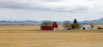 Montana Photograph - Montana Landscape by Pierre Leclerc Photography