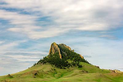 Butte Montana Photograph - Montana Matterhorn by Todd Klassy