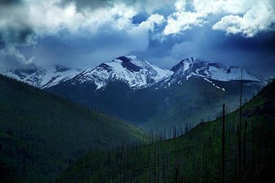 Montana Mountain Vista #2 Art Print