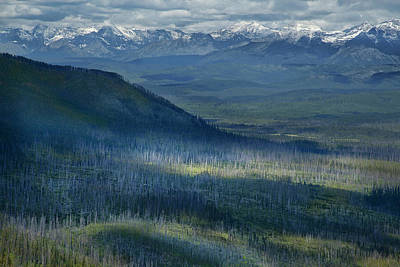 Montana Mountain Vista #3 Art Print