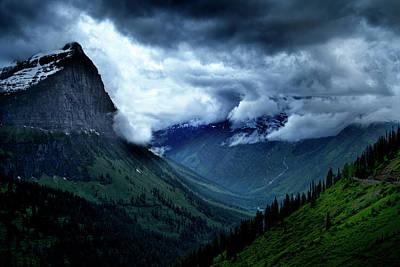 Photograph - Montana Mountain Vista by David Chasey