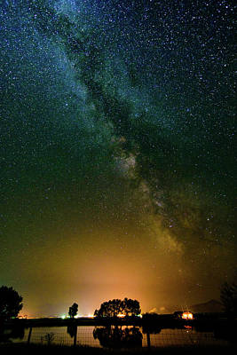 Photograph - Montana Night by Bryan Carter