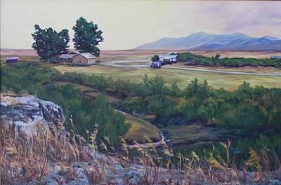Montana Prairie Art Print