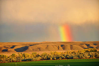 Photograph - Montana Rainbow by Braden Moran