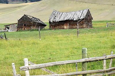 Montana Ranch Art Print by Marty Koch