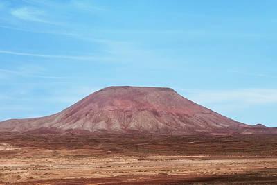 Corralejo Photograph - Montana Roja - Fuerteventura by Joana Kruse