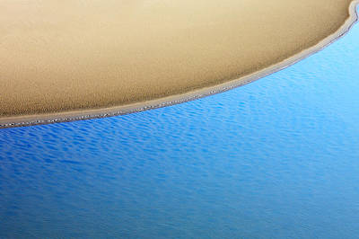 Abstract Beach Landscape Photograph - Montana Shoreline by Todd Klassy