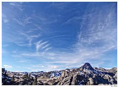 Montana Sky 1 Art Print by Susan Kinney